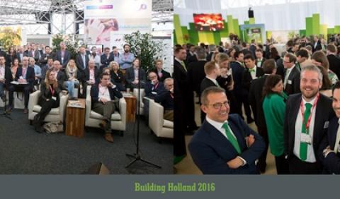 Breman IJsselmuiden deelt kennis op Building Holland