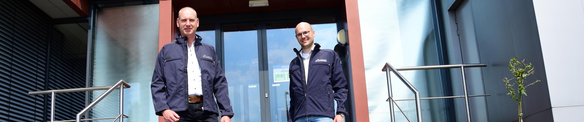 Joris van Hellenberg en Bert van Ewijk Woningbeheer Zuid