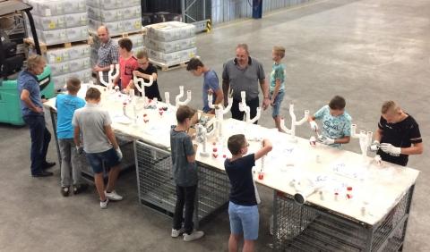 Leerlingen doen praktijkervaring op bij Breman Zuid