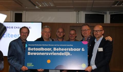 Breman Woningbeheer wint Woonstad Rotterdam Energie Challenge