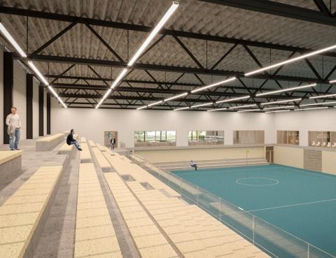 Sporthal KV Wageningen