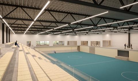 Breman Utiliteit Zwolle realiseert installaties in nieuwe sporthal Wageningen
