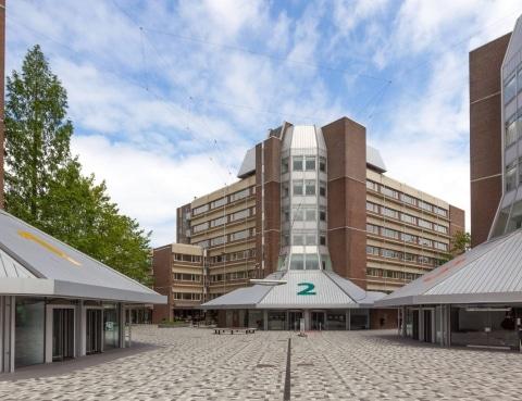 Studentenwoningen Campus in Diemen