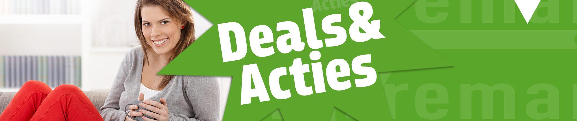 Bekijk hier Deal en Acties