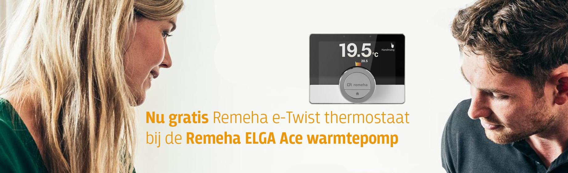 header gratis Remeha e-Twist thermostaat - ELGA